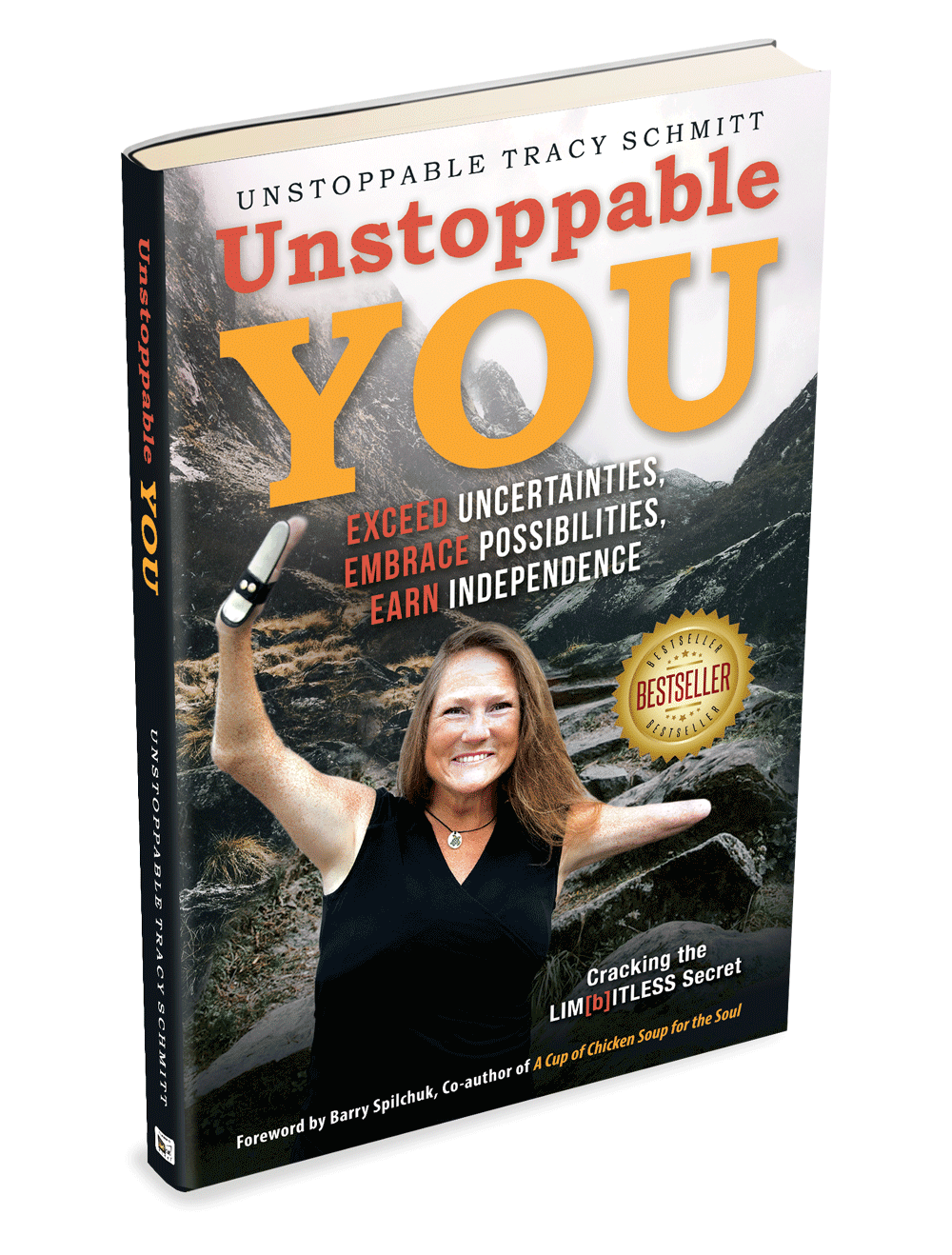 tracy schmitt unstoppable you book cover
